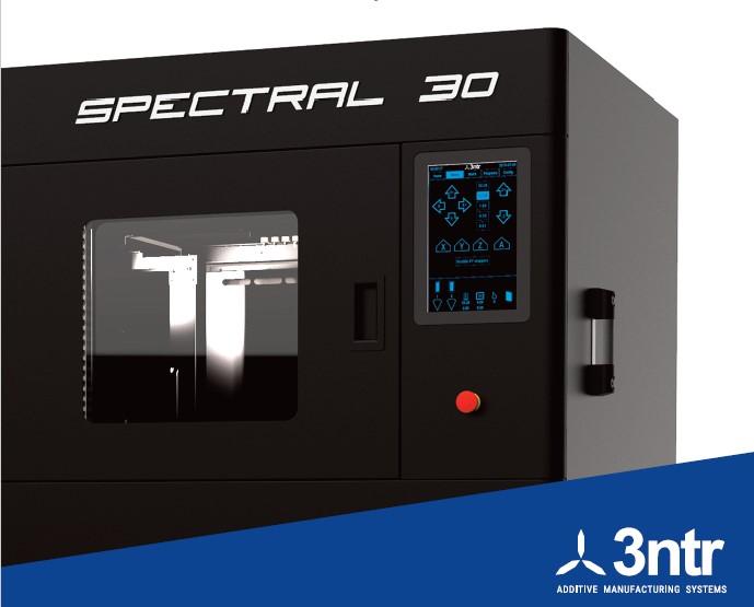 Spectral 30 PEEK Ultem PEKK 3D Printer
