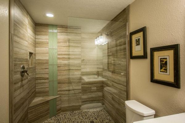 Tile Shower Bathroom Remodel