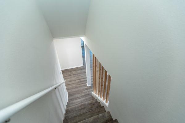 finishing a basement: stairs