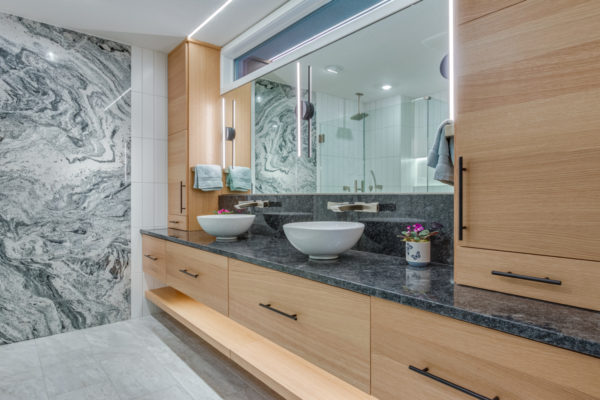 Master Bath Remodel by a design build firm