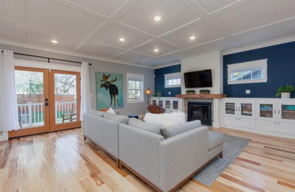 design build firm benefits: new living room