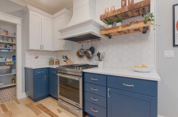 portland craftsman home: cabinets