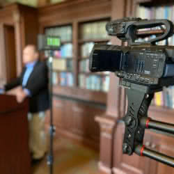 Video production in The Keystone Project library