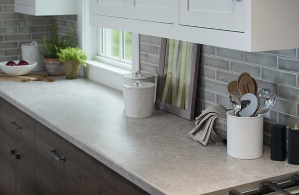 countertop pros and cons: laminate countertop