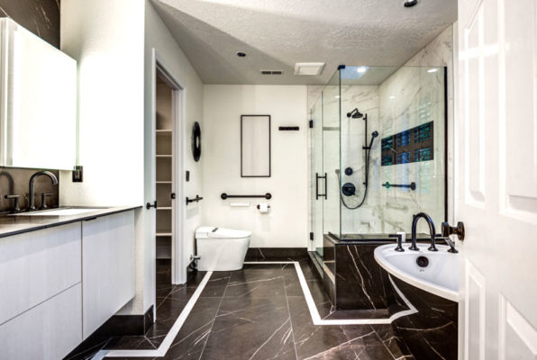 home remodeling costs: master bath remodel