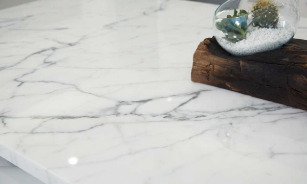countertop pros and cons: marble countertop