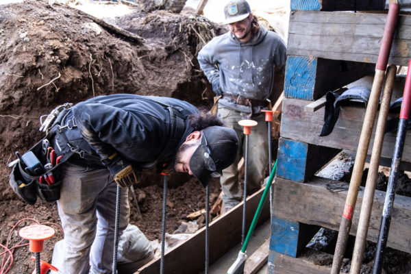 budgeting for a home addition: foundation work