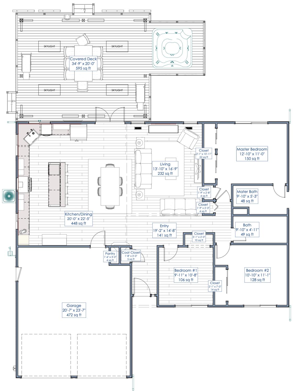 addition floorplan