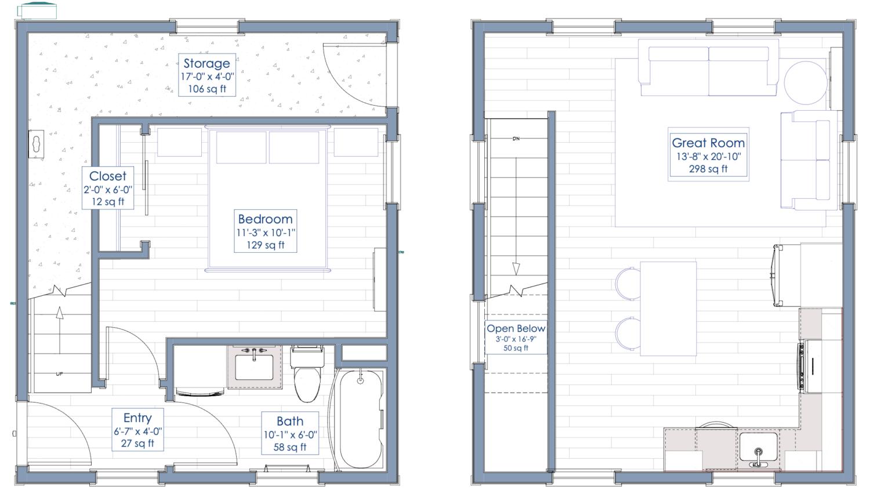 adu floorplan