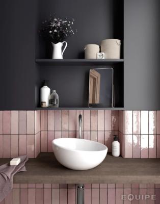 tile trends: pink