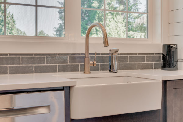 tile trends: hand glazed in rustic setting