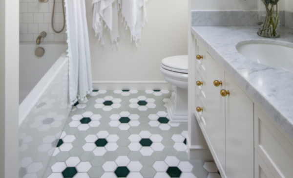 tile trends: geometric patterns