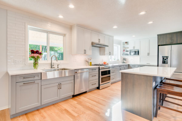 green home remodeling: new kitchen remodel
