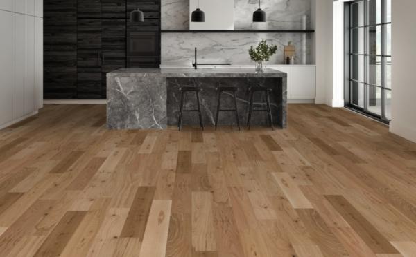 kitchen flooring options: hardwood floors