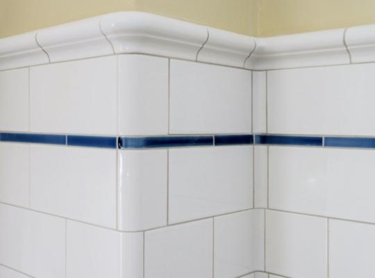 subway tile design ideas: victoria cap