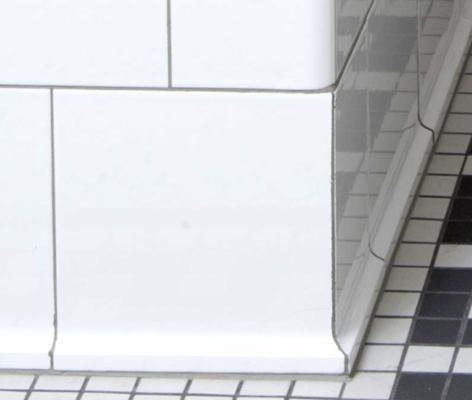 subway tile flat base