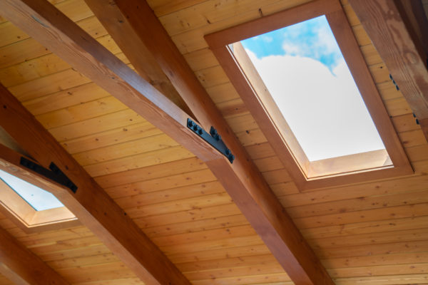sustainable home building: skylight
