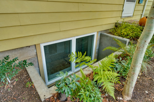 building a home office: basement windows