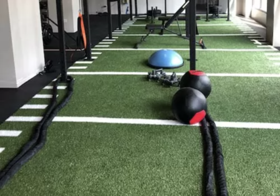 home gym ideas: turf