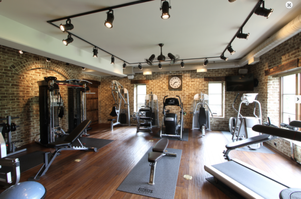 home gym ideas: rustic