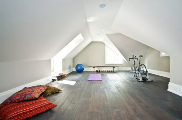 attic home gym