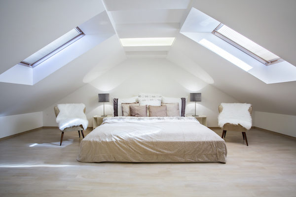 attic remodel skylights