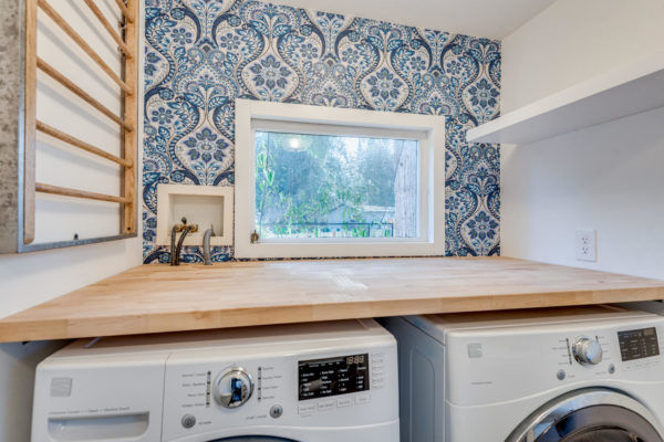 laundry room essentials: folding area