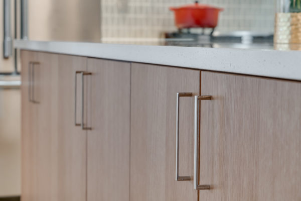 kitchen remodel costs: brown wood cabinets