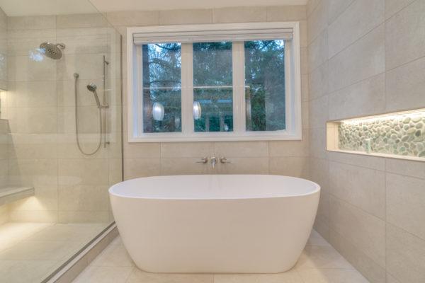 smart remodeling: skip large bathtub