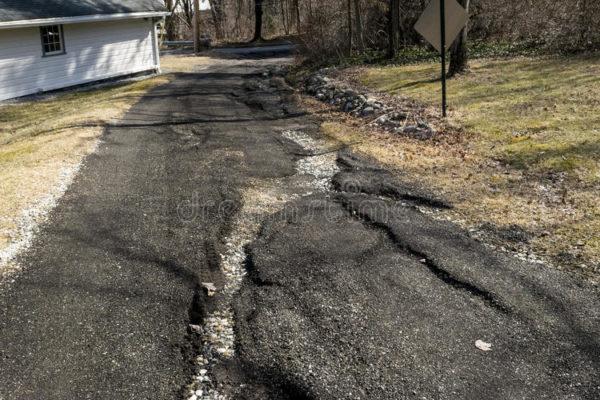 concrete driveway replacing