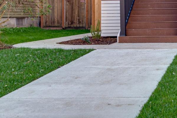 sidewalk concrete slab