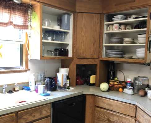 portland kitchen remodel - before