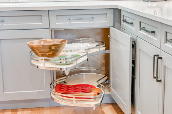 kitchen cabinet accessories: blind corner pullout