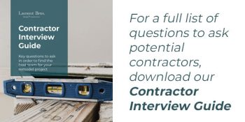 how to find a good contractor in Portland: Contractor Interview Guide