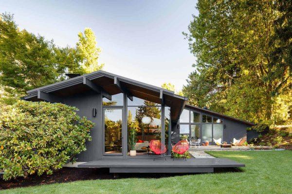 Portland home styles: Mid-century modern