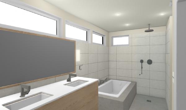 portland home addition: master suite