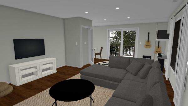 bonus room rendering