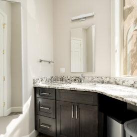 bright white bathroom remodel